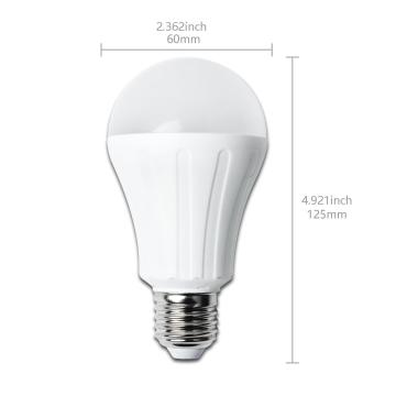 Bombilla led a5 a60 big angle 15w e27 luz natural 4000k - Bombillas luz natural ...