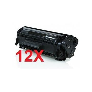PACK 12 HP CE285A COMPATIBLE