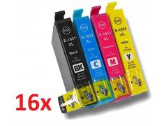 PACK 16 EPSON T1631/2/3/4 COMPATIBLE