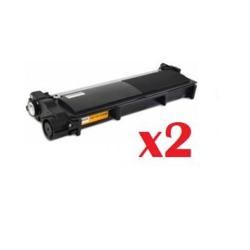PACK 2 BROTHER TN-2320 TN-2310 COMPATIBLE