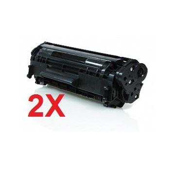 PACK 2 HP CF280A COMPATIBLE