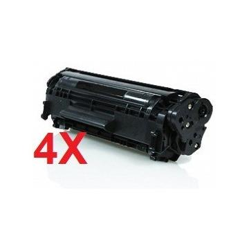 PACK 4 HP CE390X COMPATIBLE