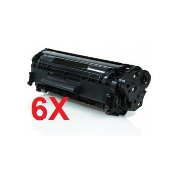 PACK 6 HP Q7551X COMPATIBLE