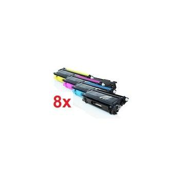 PACK 8 HP Q6000/1/2/3A COMPATIBLE